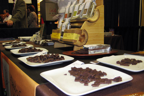 Claudio Corallo Chocolate at Fancy Food Show 2009