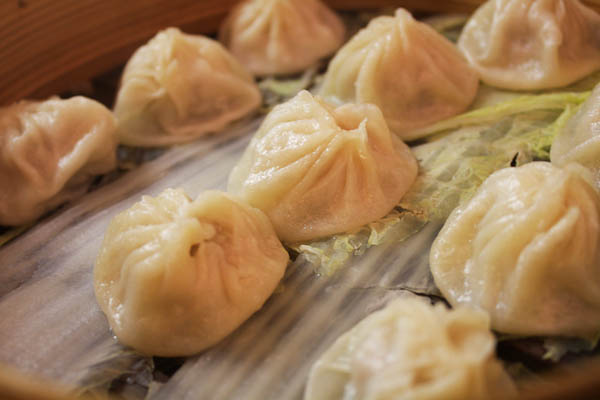 Shanghai Dumpling King, Xiao Long Bao // @lickmyspoon