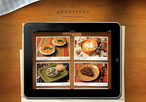appetites ipad cooking app