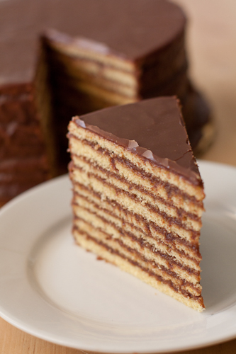 Classic Smith Island Cakes, Chocolate Layer Cake