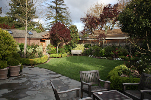 The French Laundry courtyard