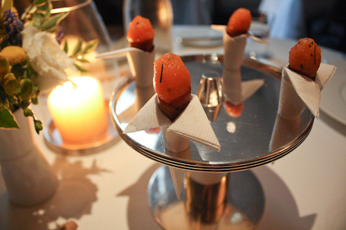 The French Laundry salmon cornets
