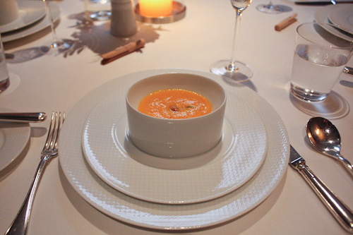The French Laundry carrot soup
