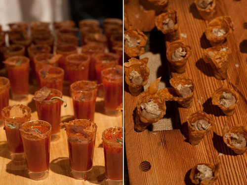 Cochon 555, porky shooters and cones