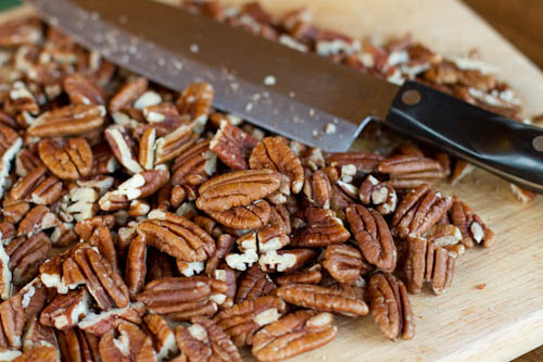 Pecans for Thanksgiving Stuffing