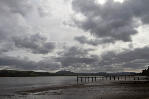Clouds over Tomales Bay