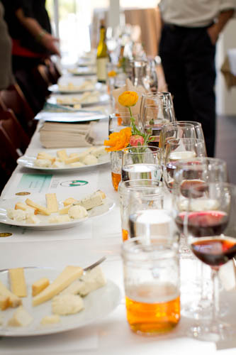 Wine and Cheese Tasting, point reyes