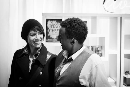 Chefs Dominique Crenn and Marcus Samuelsson