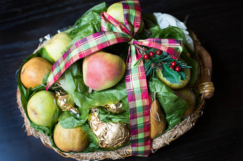 Harry & David's Pear Medley Basket