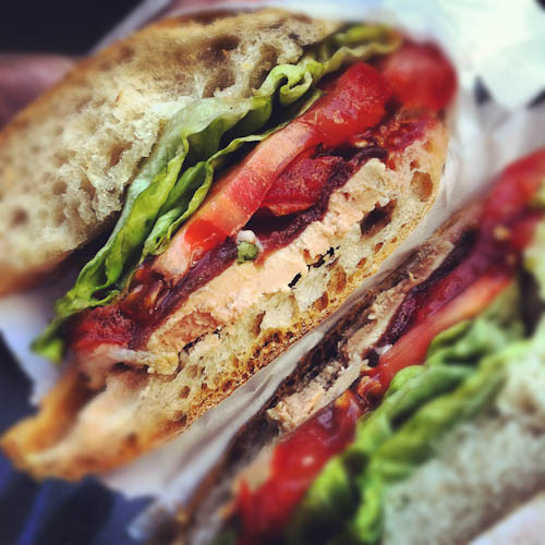 Foie Gras & Duck Prosciutto Sandwich // LickMySpoon