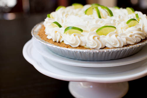 Frozen Key Lime Pie // LickMySpoon