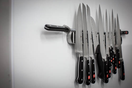 SF Cooking School, knives // LickMySpoon