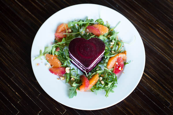 Valentine's Day Beet Salad // @lickmyspoon
