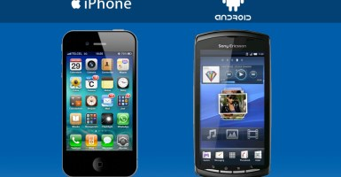 aplicaciones de Android y iPhone