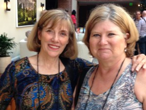 Liesa with Beth Ann at Bouchercon