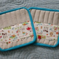 Liesl Made Pot Holder Tutorial.