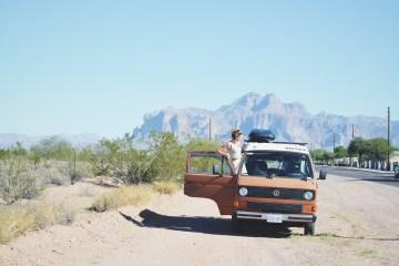 Li et Co Arizona Apache Junction van life