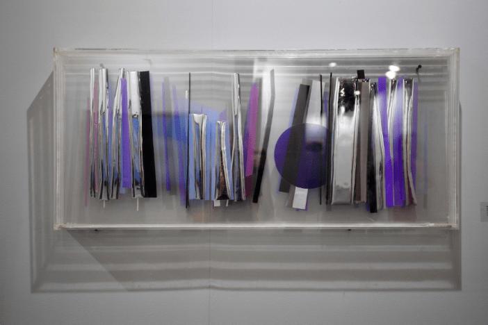 Nadia Saïkali's progressive plexiglass art | photo: Greg Demarque