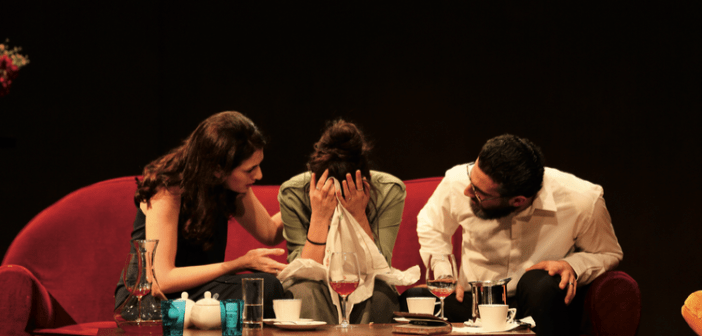 Dinner and divorce at the Monnot Theater