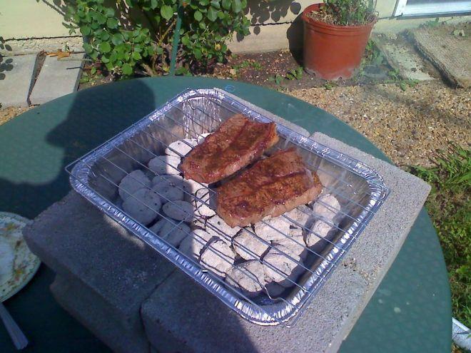 cheap-o grill