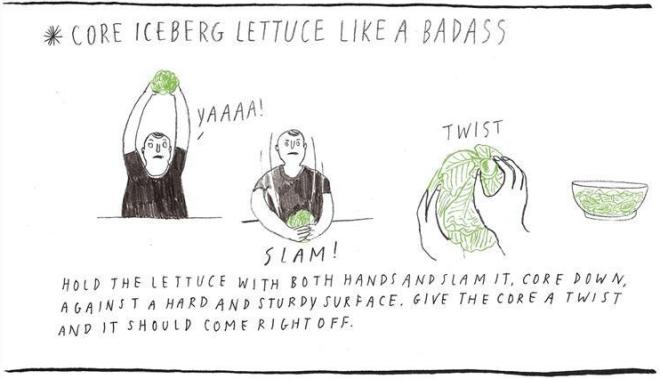 Bam!  Lettuce!