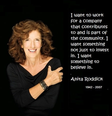 Anita Roddick quote