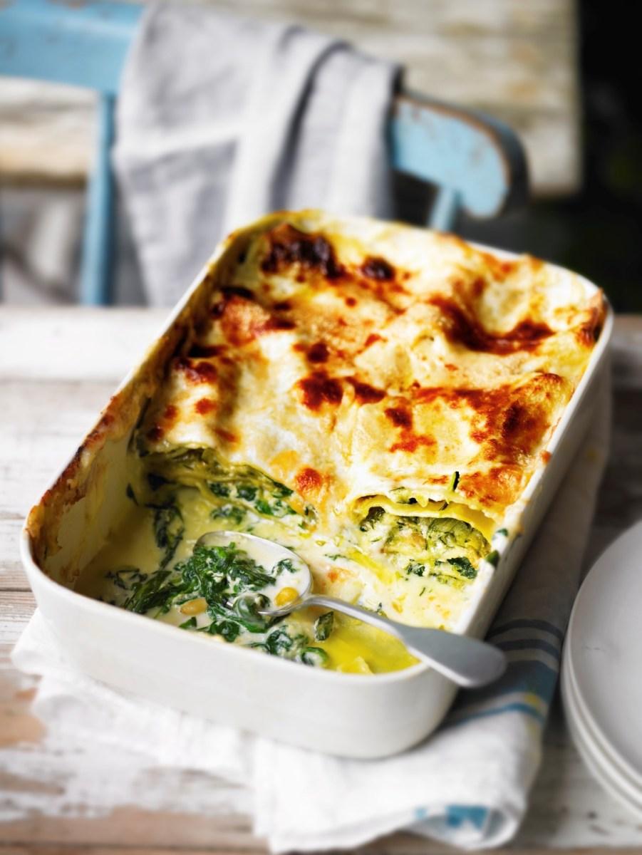 Recipe: Courgette, spinach & ricotta lasagne