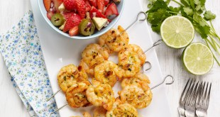 Lifeandsoullifestyle.com - prawn tacos recipe