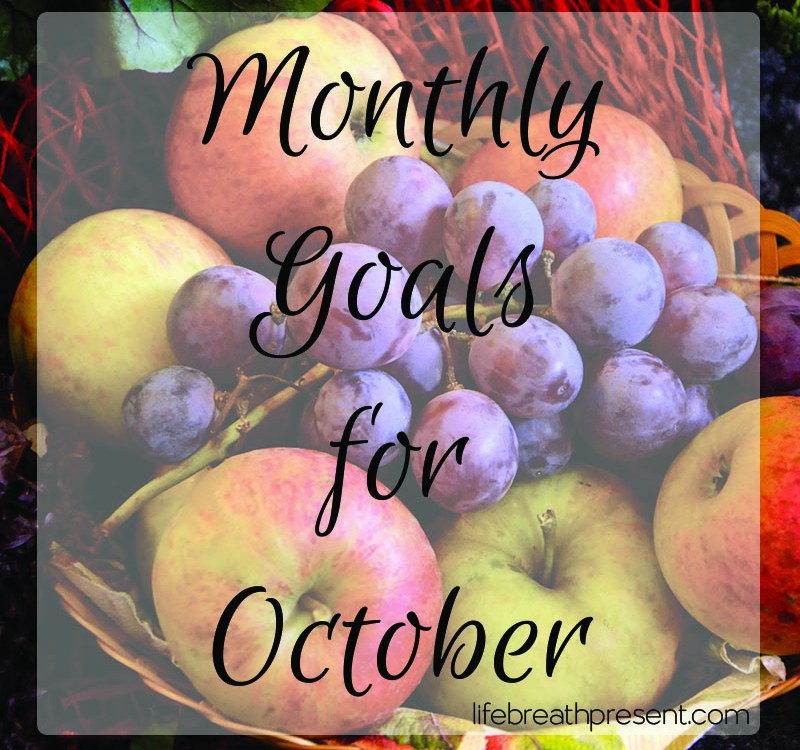 Setting Goals for Achievement this October