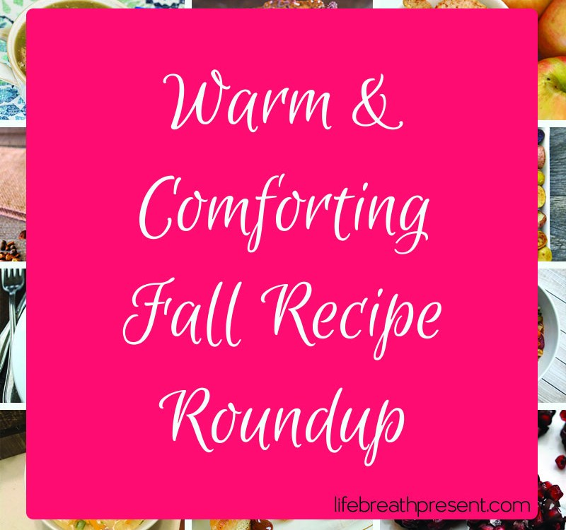 Warm, Comforting, & Tasty {Fall Recipe Roundup}
