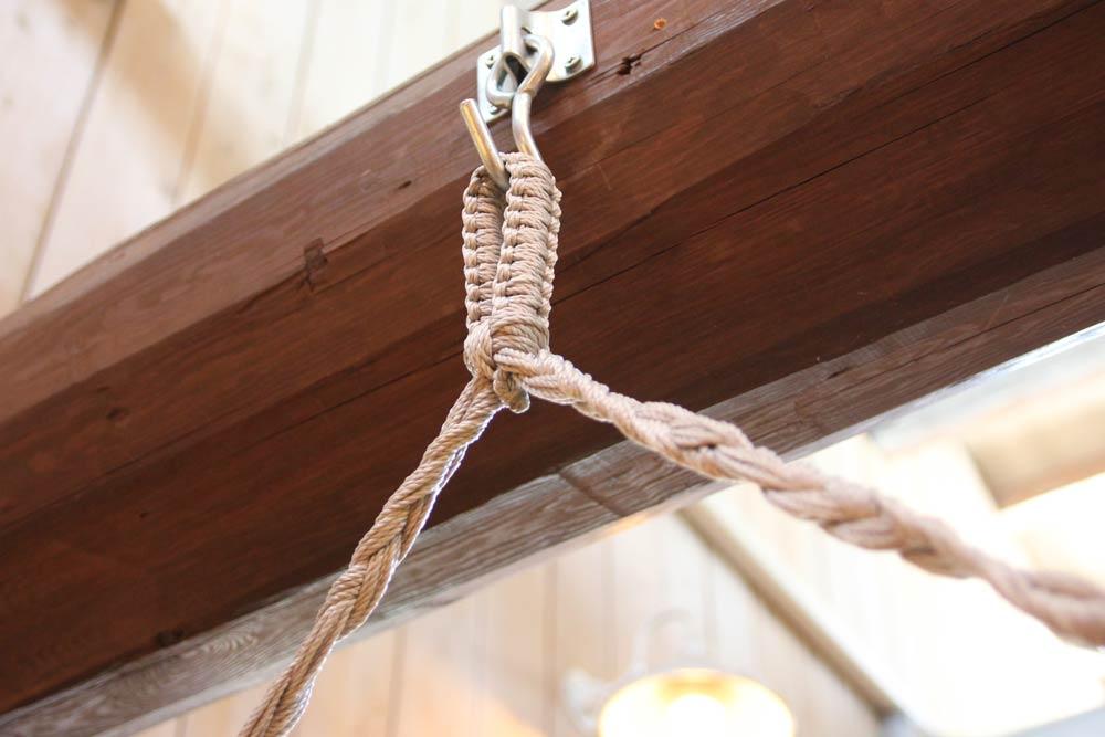 ハンモック金具の取付けについて、建築士の【基本的な考え方】