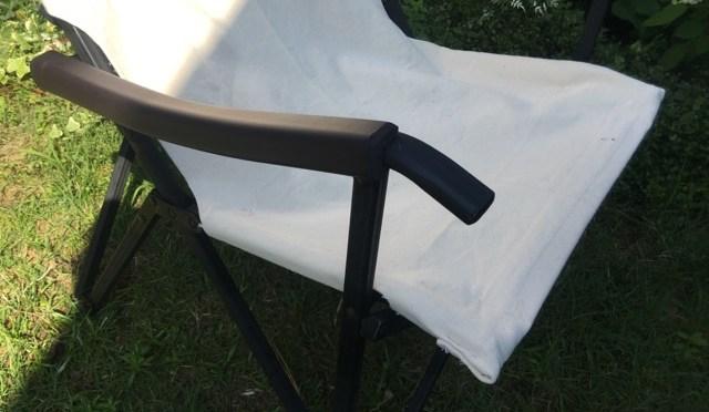 裁縫ド素人が、破れたお気に入りのキャンプチェア布地の張り替えをやってみた(DIY)