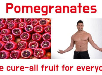 Pomegranates – The cure all fruit for everyone