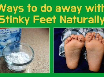 Ways to do away with Stinky Feet Naturally