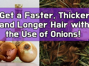 Get a Faster, Thicker and Longer Hair with the Use of Onions