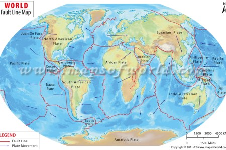 fault lines map