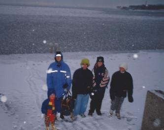 Life in Camelot, Favourite Song Friday, Lake Michigan, Chicago, New Year's Eve 1998