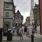 Vackra Rothenburg ob der Tauber
