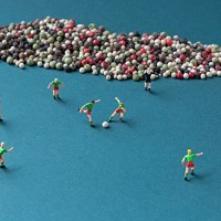 Miniature photography by Christopher Boffoli