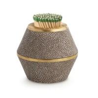 Design pick: Shagreen matchstriker from LuxDeco