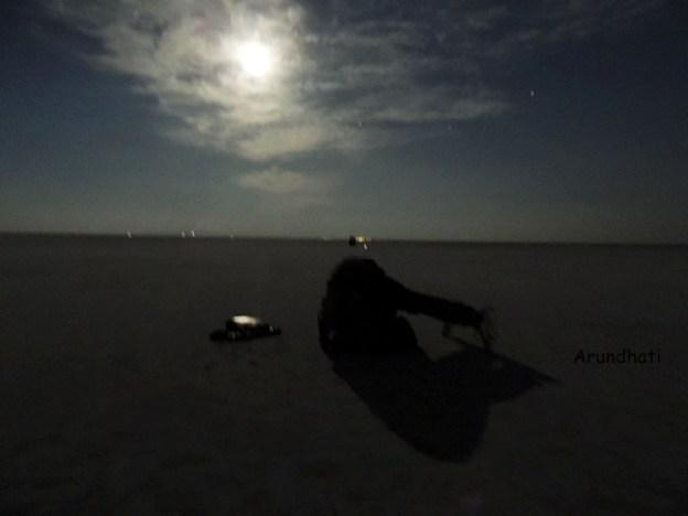 Full Moon in Rann of Kutch