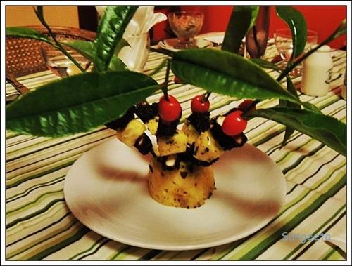 Tea Themed Dishes Paneer
