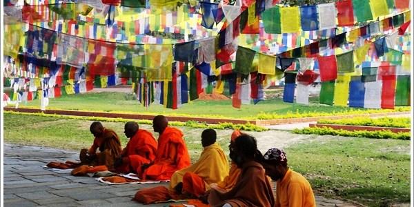 One Afternoon in Buddha's birthplace-Lumbini, Nepal