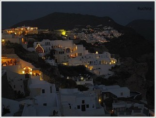 Santorini Night View