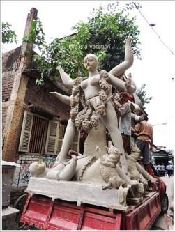 Goddess Kali Idol Kolkata