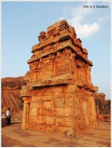 Badami Fort Trek Lower Shivalaya