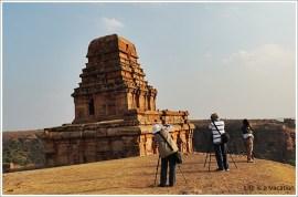 Badami Fort Trek Upper Shivalaya
