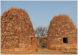 Badami Fort Trek Shivalaya Granary