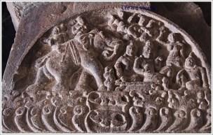 Pattadakal Pillar Carving