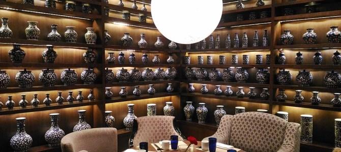 "Inside the ""Lantern"" in Ritz Carlton, Bangalore"